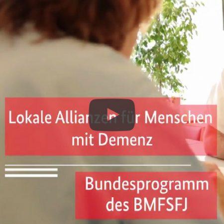 Lokale Allianzen für Menschen mit Demenz: Ein besseres Leben mit Demenz