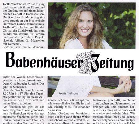 Babenhäuser Zeitung – Schmunzelgeschichten