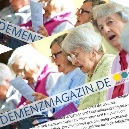 Demenzmagazin.de – Flyer