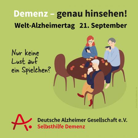 Demenz – genau hinsehen!